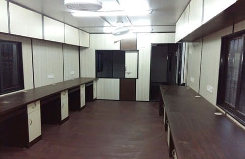 prefabricated office cabins in Bangalore