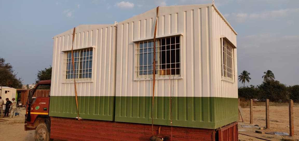 Porta Office Cabin Manufacturer | SAMAN POS India Pvt Ltd