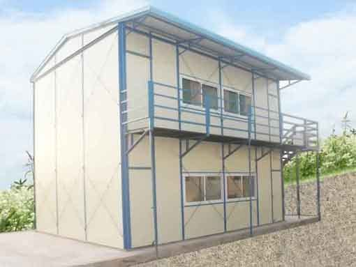 prefab site office in India